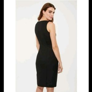 🆕️TRISTAN Little Black Striped fitted dress BNWOT